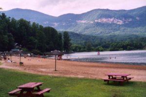 lake lure beach