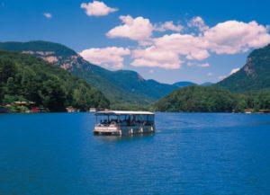 lake lure boating