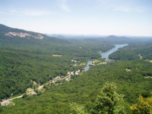 lake lure hiking