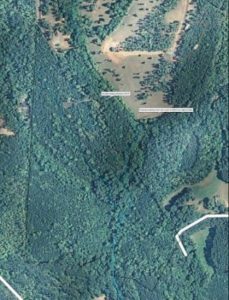lake lure aerial map