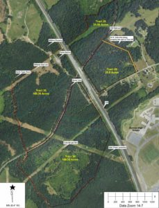 spartanburg sc tract map