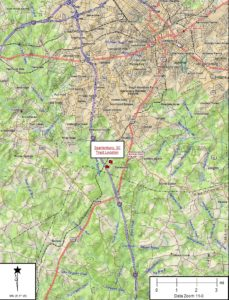 spartanburg tract location map